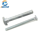 Carbon Steel Hot Dip Galvanized Carriage Bolts